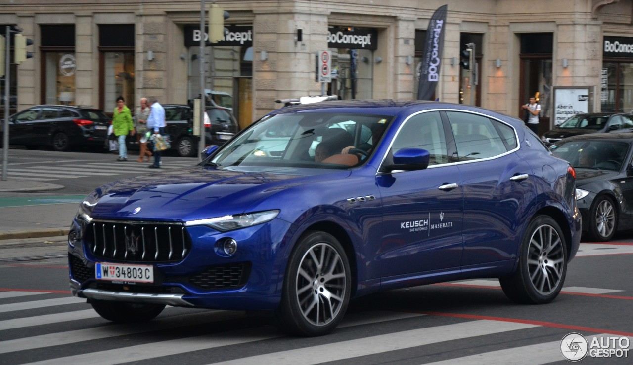 maserati levante s 1 october 2016 autogespot. Black Bedroom Furniture Sets. Home Design Ideas