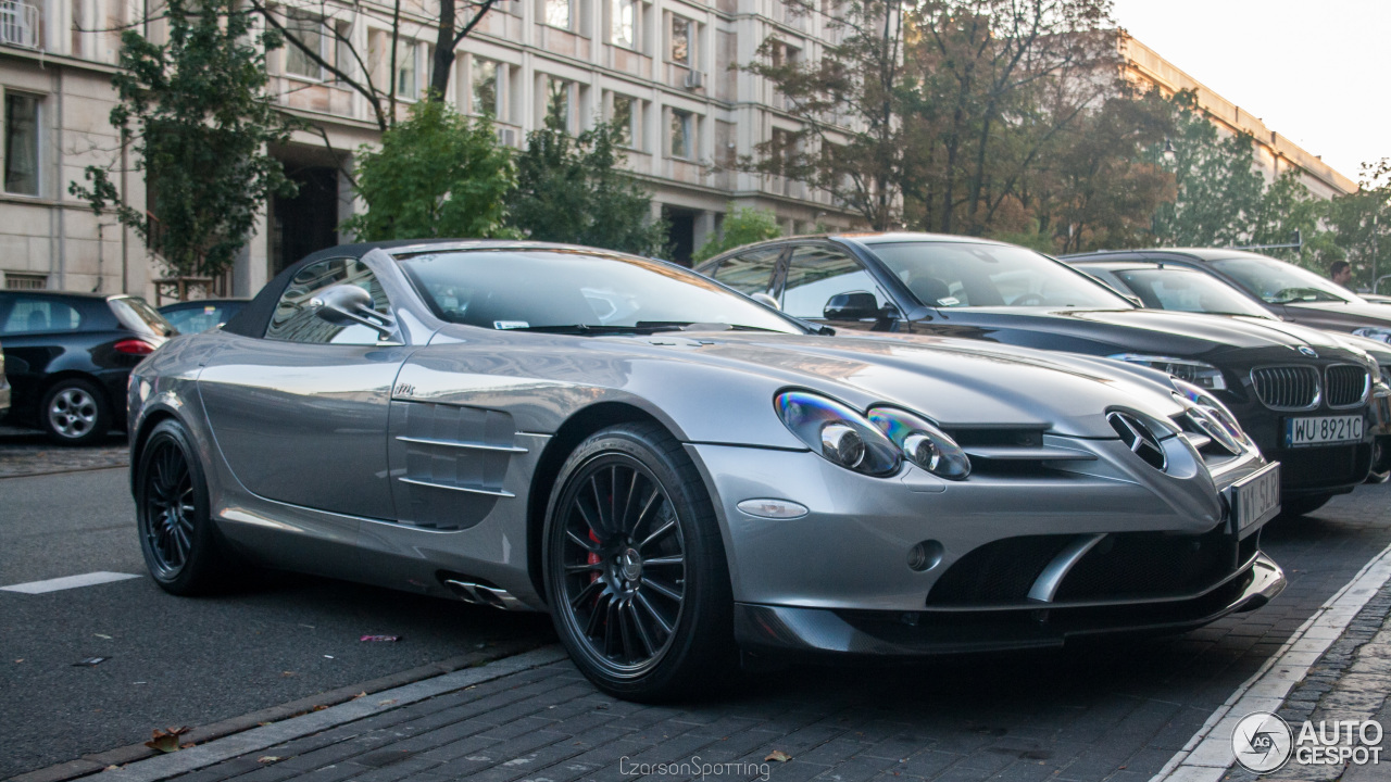 Mercedes benz slr mclaren roadster 722 s 1 october 2016 for Mercedes benz slr mclaren price