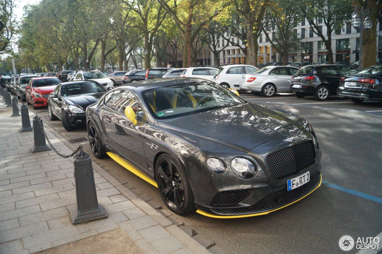 bentley continental gt speed black edition 2016 2 october 2016. Cars Review. Best American Auto & Cars Review