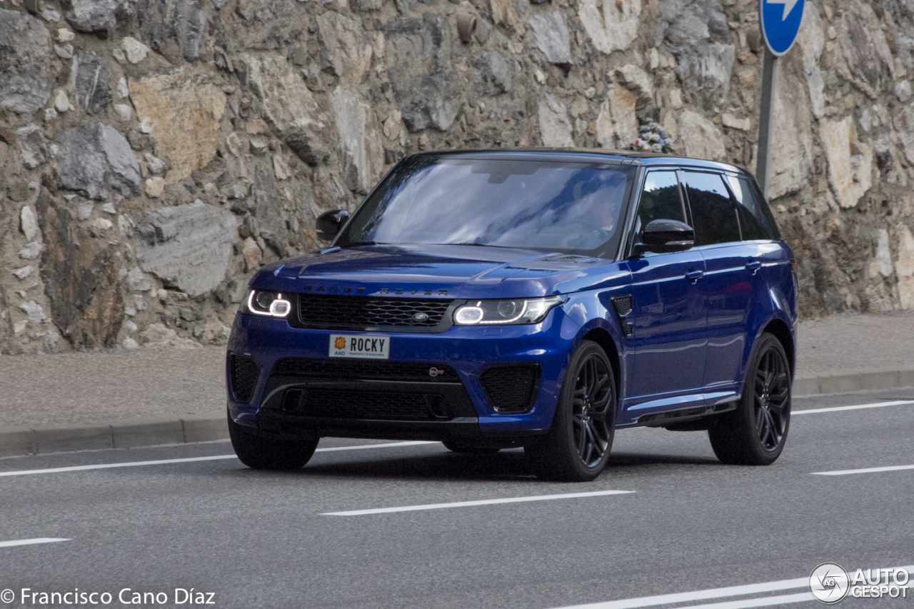 land rover range rover sport svr 2 october 2016 autogespot. Black Bedroom Furniture Sets. Home Design Ideas