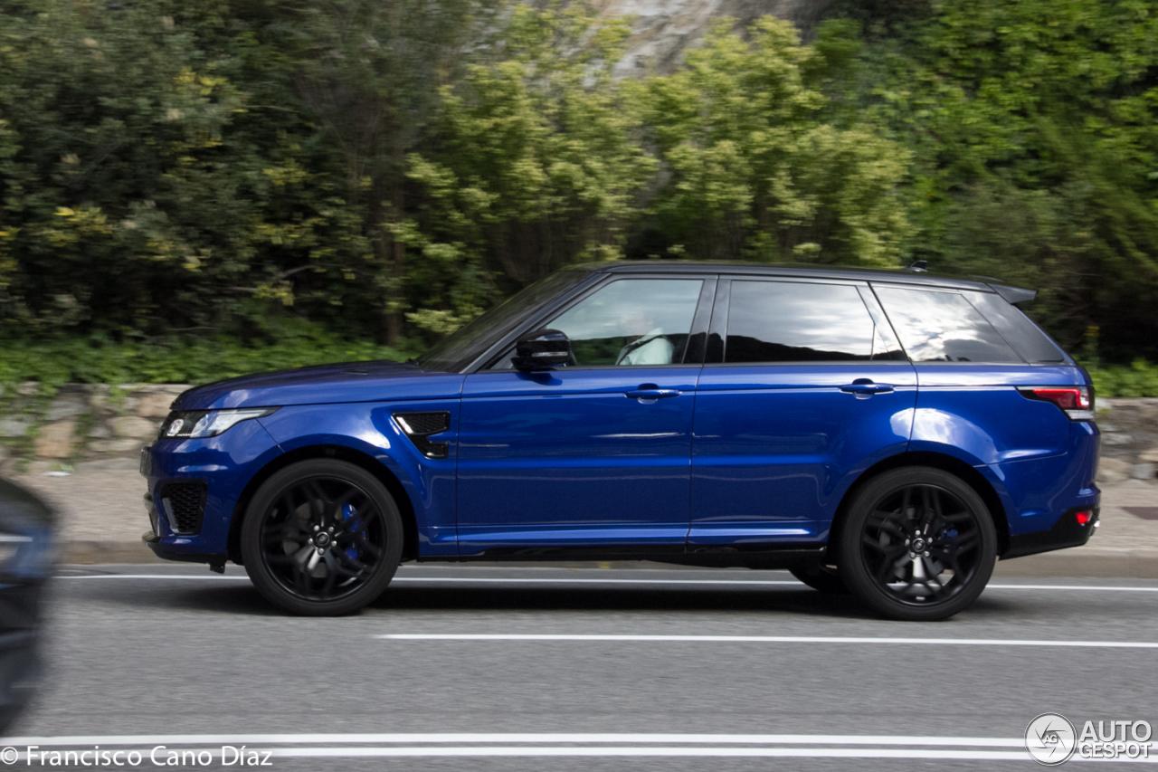 Land Rover Range Rover Sport Svr 2 October 2016 Autogespot