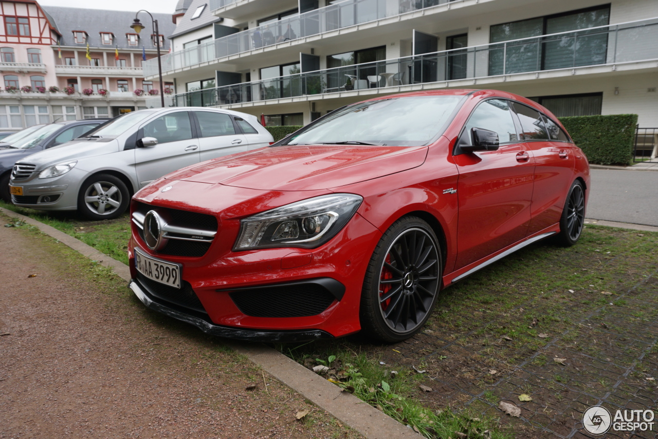 mercedes benz cla 45 amg shooting brake 2 october 2016 autogespot. Black Bedroom Furniture Sets. Home Design Ideas
