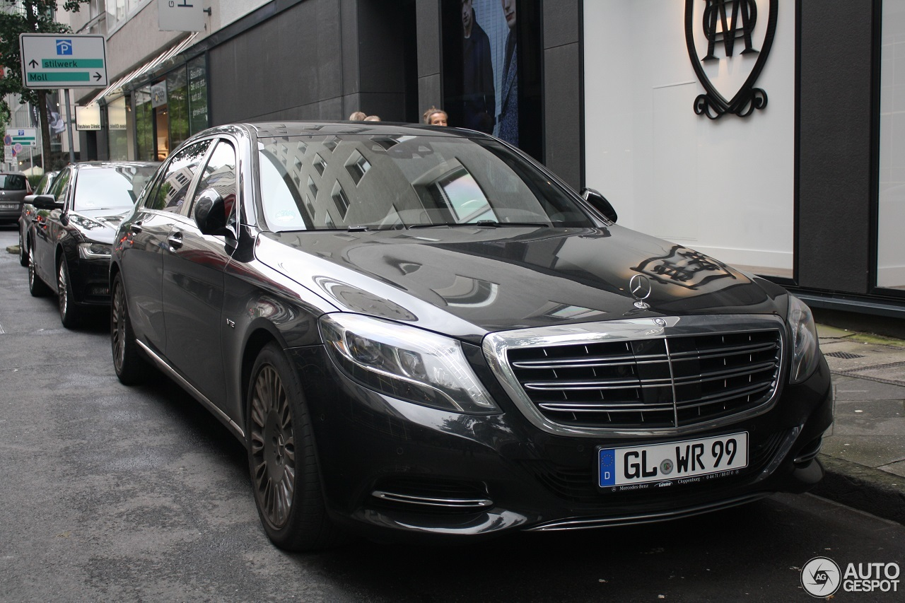 Mercedes maybach s600 2 october 2016 autogespot for 2008 mercedes benz s600 for sale