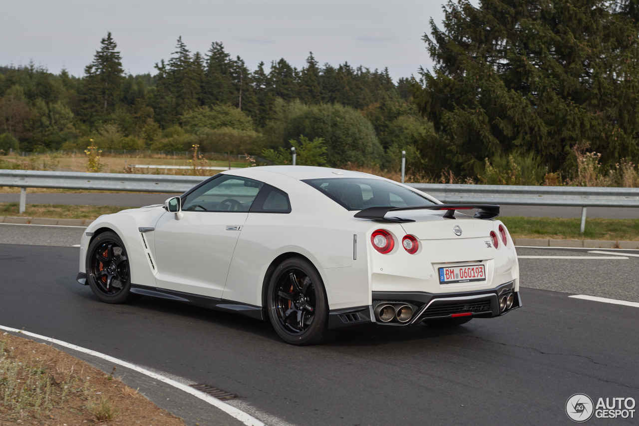Nissan Gt R 2017 Track Edition 3 October 2016 Autogespot