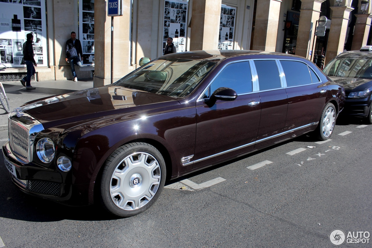 Bentley Mulsanne Grand Limousine 5 October 2016 Autogespot
