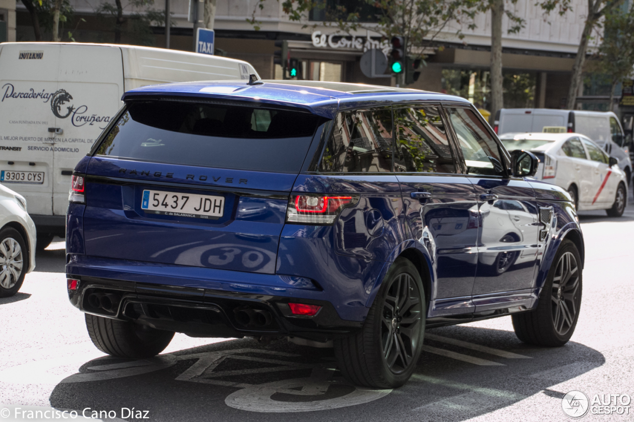 Land Rover Range Rover Sport SVR - 5 October 2016 - Autogespot