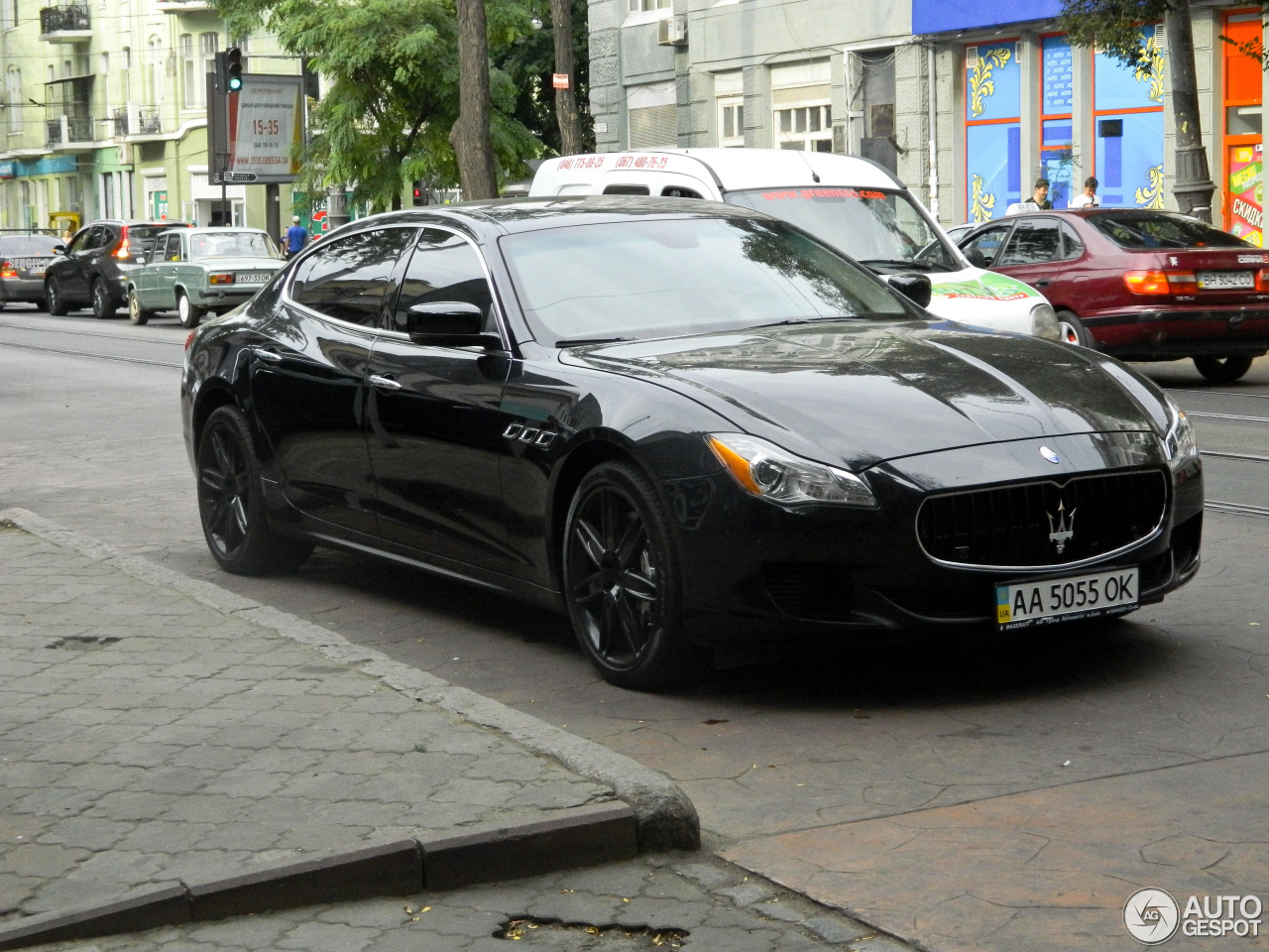 maserati quattroporte gts 2013 5 october 2016 autogespot. Black Bedroom Furniture Sets. Home Design Ideas