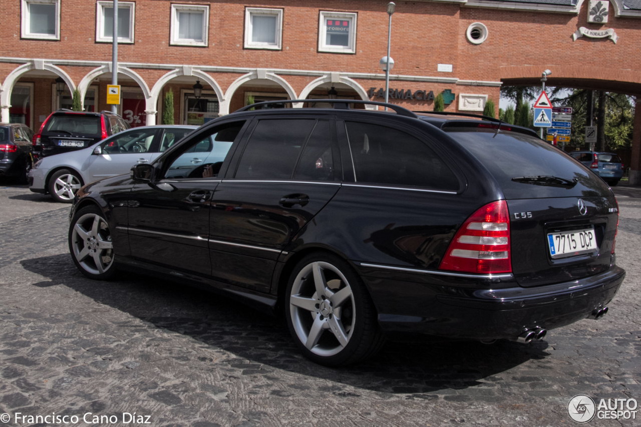 mercedes benz c 55 amg combi 5 october 2016 autogespot. Black Bedroom Furniture Sets. Home Design Ideas