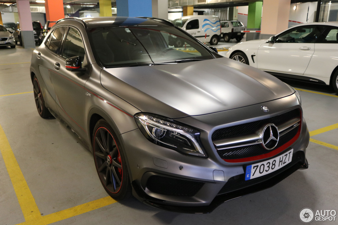 mercedes benz gla 45 amg edition 1 5 october 2016 autogespot. Black Bedroom Furniture Sets. Home Design Ideas