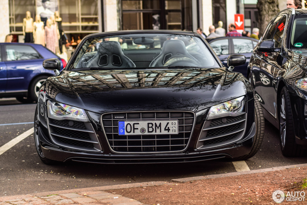 audi r8 gt spyder 6 octobre 2016 autogespot. Black Bedroom Furniture Sets. Home Design Ideas
