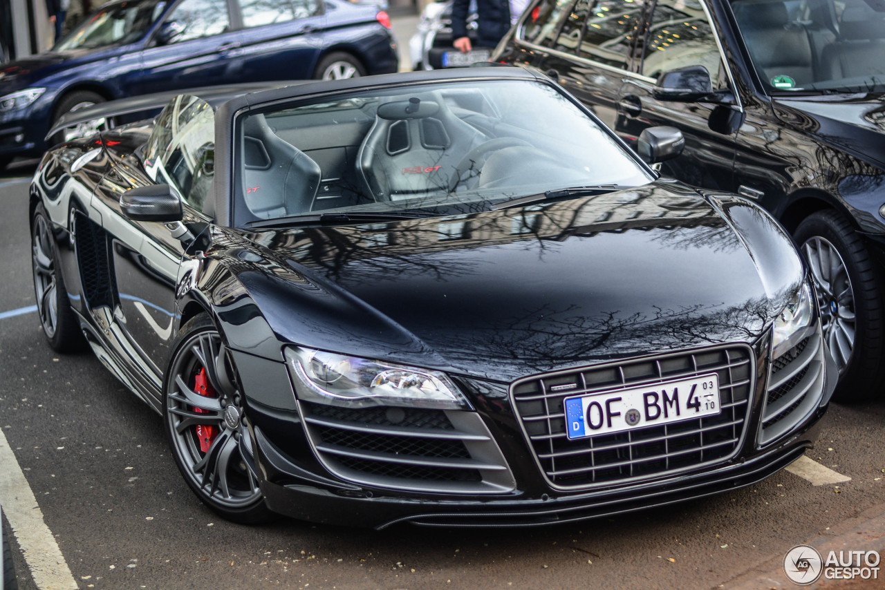 audi r8 gt spyder 6 october 2016 autogespot. Black Bedroom Furniture Sets. Home Design Ideas