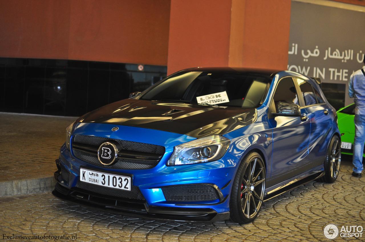 Mercedes benz brabus a b45 6 october 2016 autogespot for Mercedes benz brabus price
