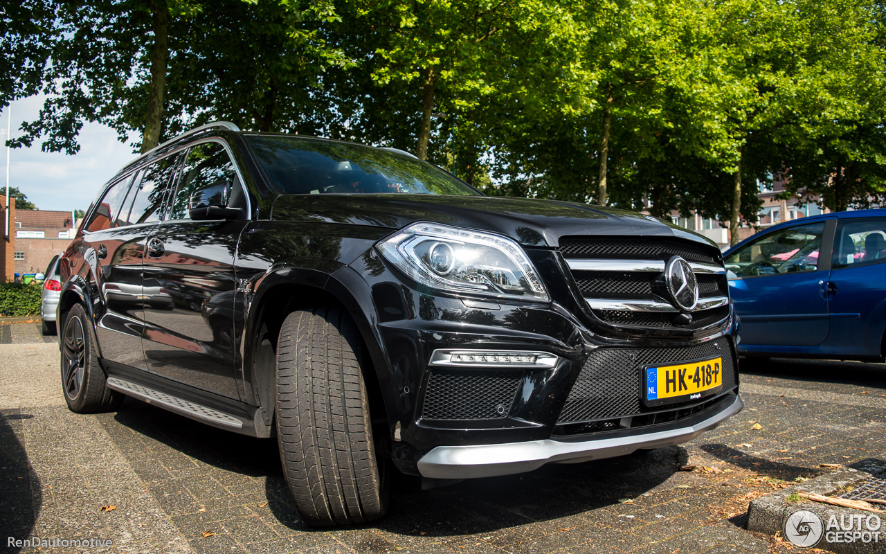 mercedes benz gl 63 amg x166 8 october 2016 autogespot. Black Bedroom Furniture Sets. Home Design Ideas