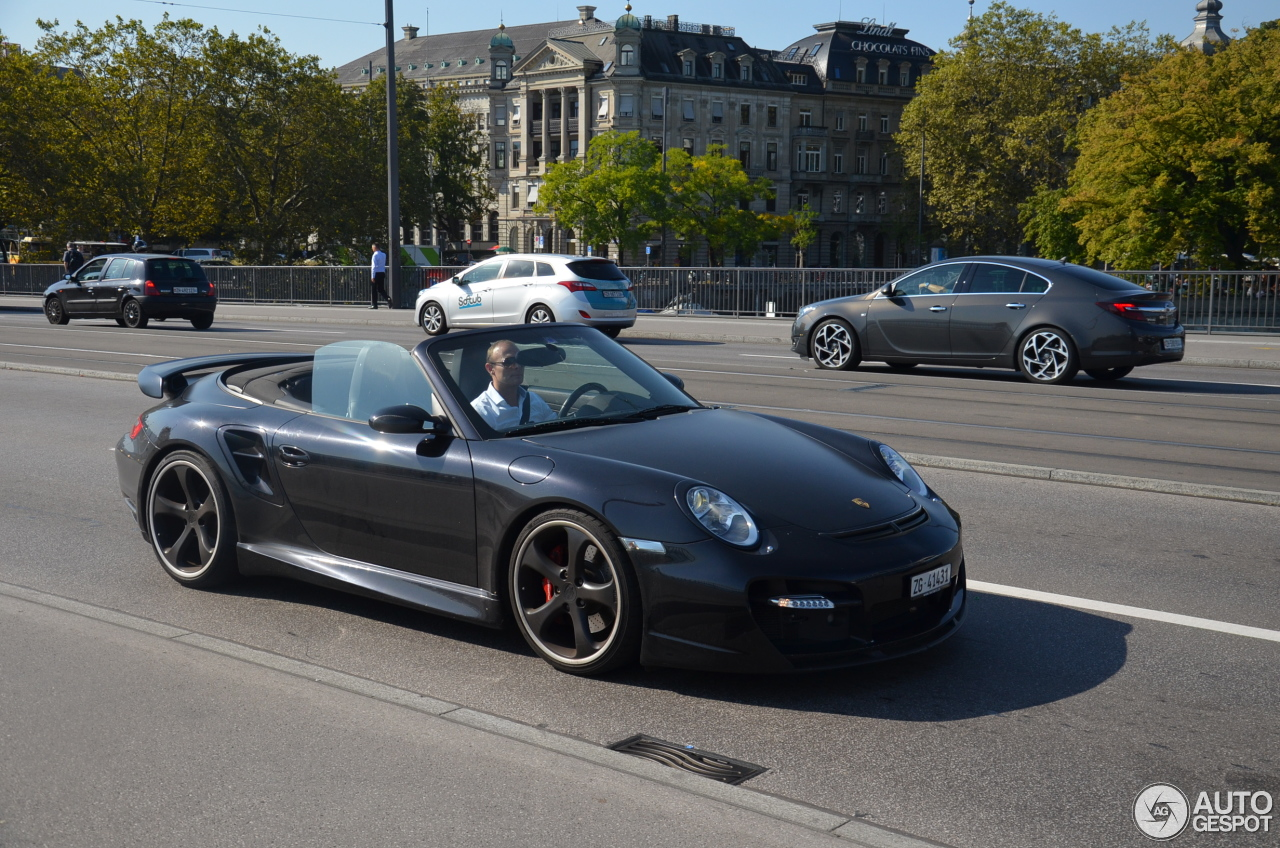 porsche 997 turbo cabriolet techart 9 october 2016 autogespot. Black Bedroom Furniture Sets. Home Design Ideas