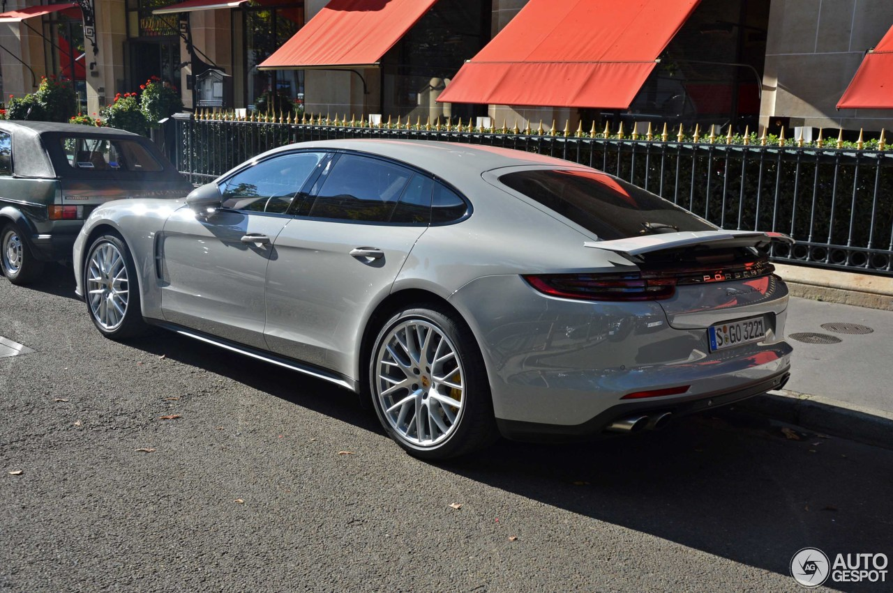 Porsche 971 Panamera Turbo 9 October 2016 Autogespot