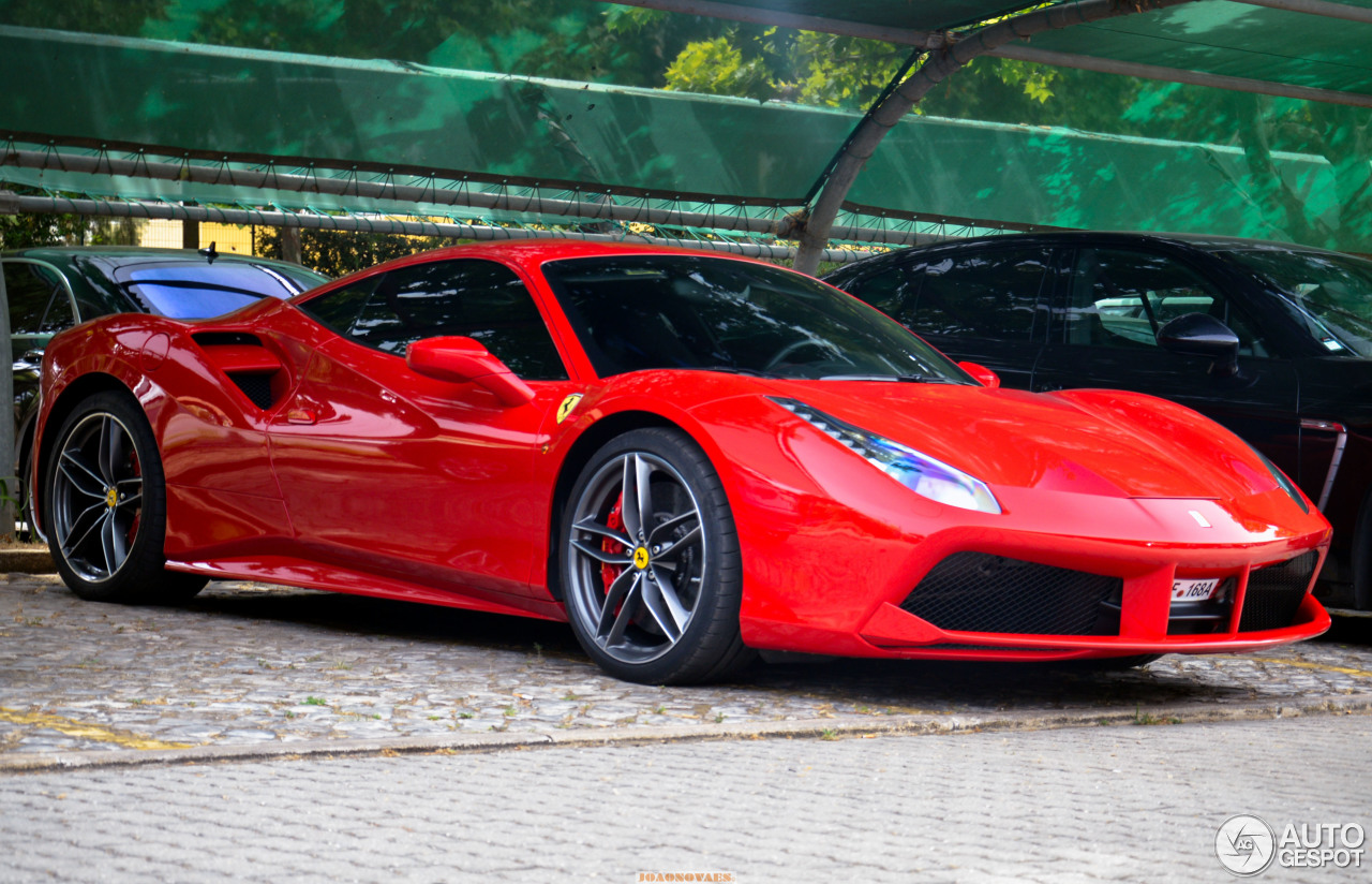 ferrari 488 gtb 10 october 2016 autogespot. Black Bedroom Furniture Sets. Home Design Ideas