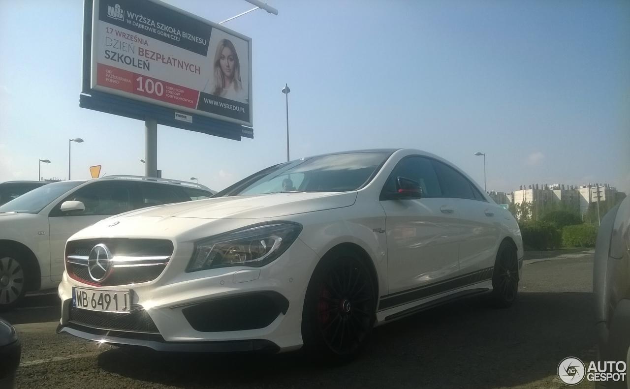 Mercedes benz cla 45 amg edition 1 c117 10 october 2016 for Mercedes benz cla 2012