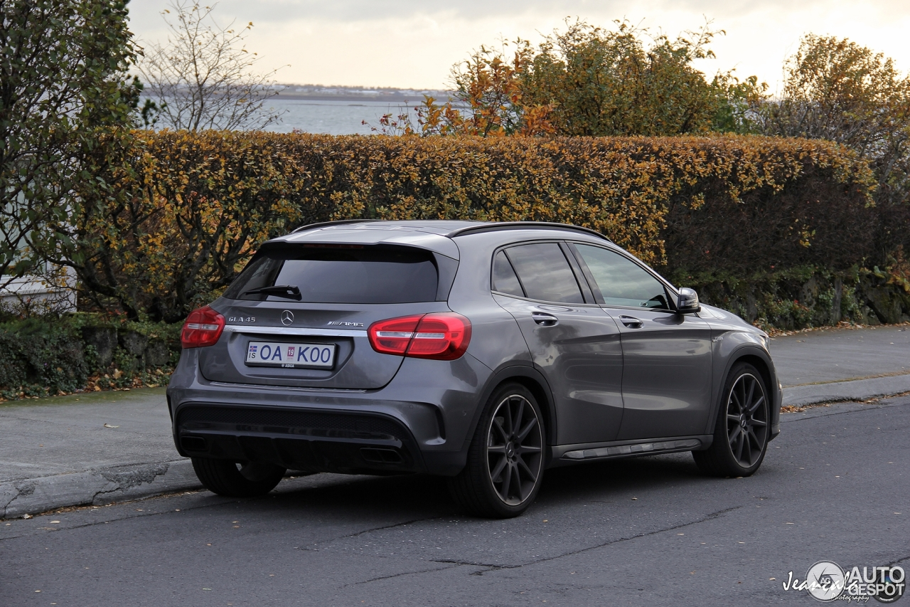 mercedes benz gla 45 amg x156 10 october 2016 autogespot. Black Bedroom Furniture Sets. Home Design Ideas