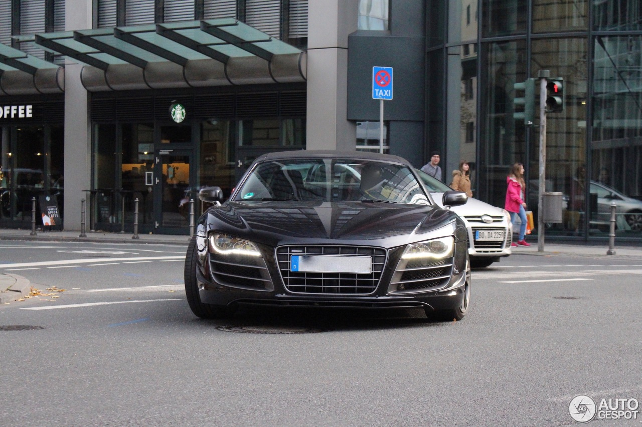 audi r8 gt spyder 12 october 2016 autogespot. Black Bedroom Furniture Sets. Home Design Ideas