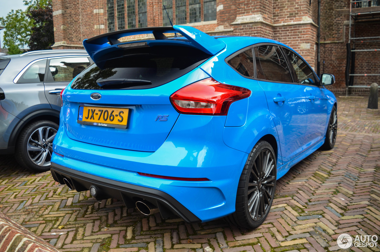 ford focus rs 2015 12 october 2016 autogespot. Black Bedroom Furniture Sets. Home Design Ideas