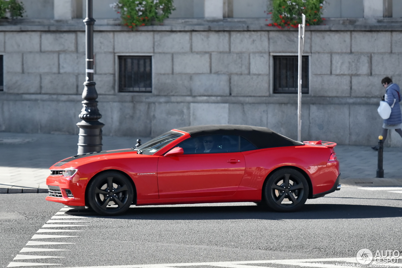 chevrolet camaro ss convertible 2014 14 october 2016 autogespot. Cars Review. Best American Auto & Cars Review