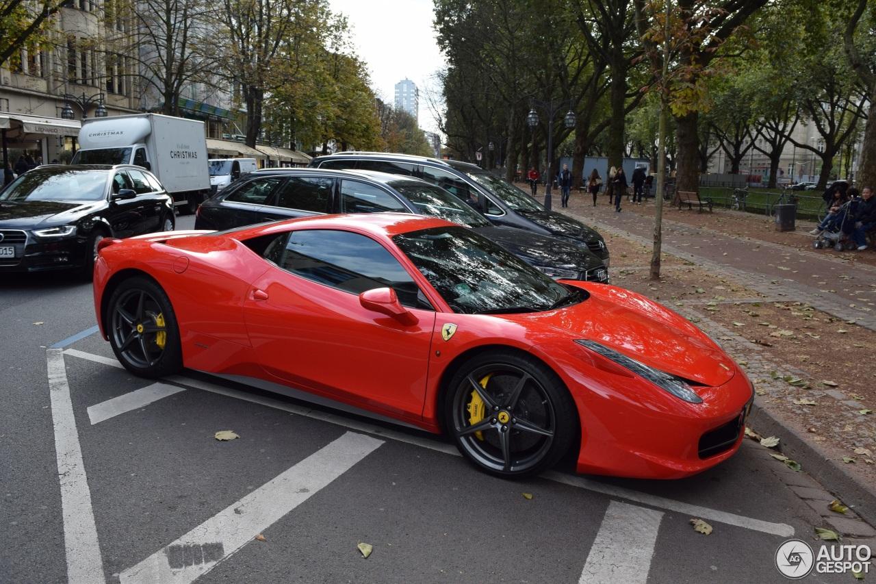 ferrari 458 italia 14 october 2016 autogespot. Cars Review. Best American Auto & Cars Review