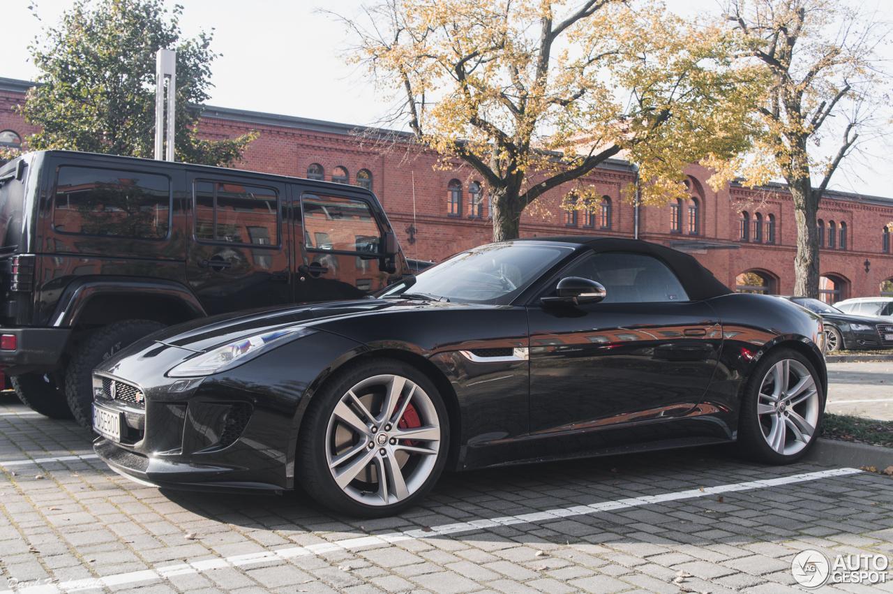 jaguar f type s v8 convertible 14 october 2016 autogespot. Black Bedroom Furniture Sets. Home Design Ideas