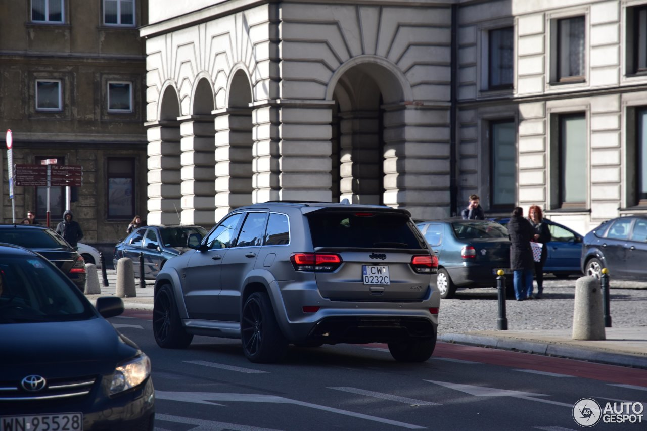 Jeep Grand Cherokee SRT-8 Tyrannos - 14 October 2016 ...