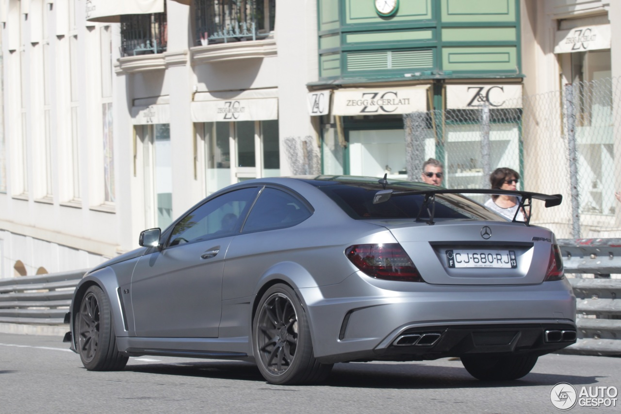 Mercedes benz c 63 amg coup black series 17 october for 5 series mercedes benz