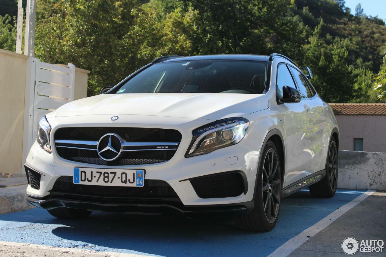 Mercedes benz gla 45 amg x156 17 october 2016 autogespot for Mercedes benz gla 45 amg price