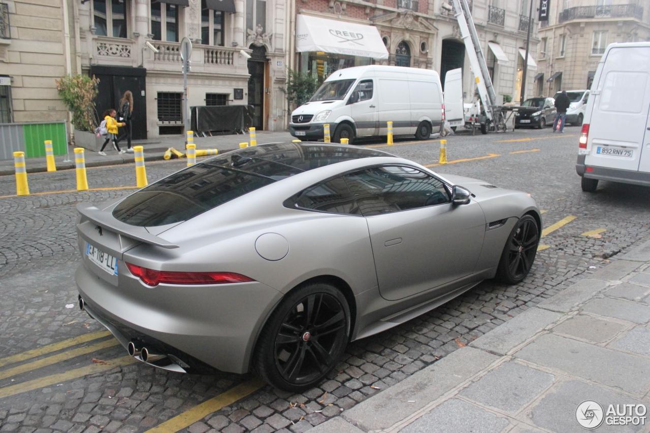 Jaguar f type r coup 18 octobre 2016 autogespot - Jaguar f type r coupe prix ...