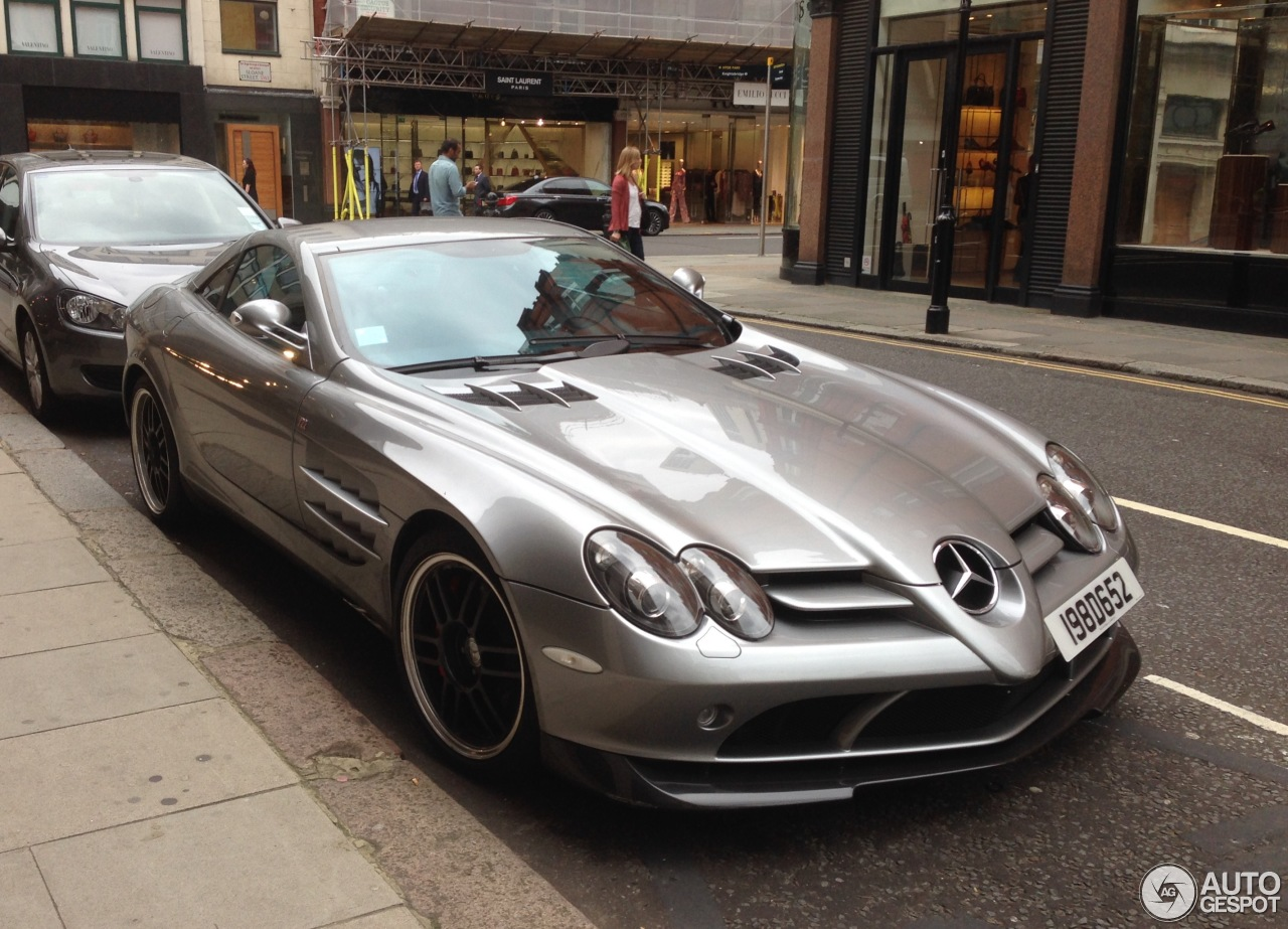Mercedes benz slr mclaren 722 edition 18 october 2016 for Mercedes benz slr mclaren price