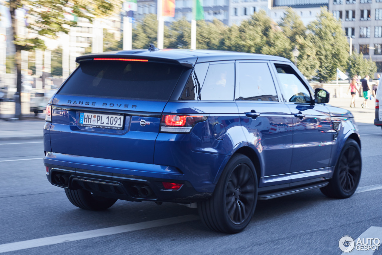 land rover range rover sport svr 19 october 2016 autogespot. Black Bedroom Furniture Sets. Home Design Ideas
