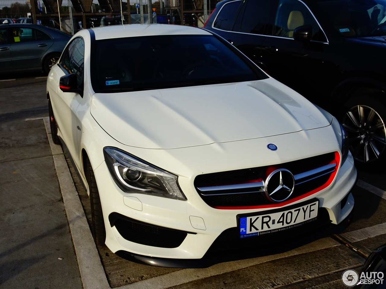 Mercedes benz cla 45 amg edition 1 c117 19 october 2016 for Mercedes benz cla amg price
