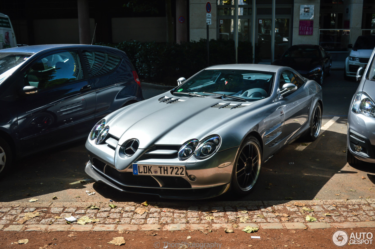 Mercedes Benz Slr Mclaren 722 Edition 19 October 2016