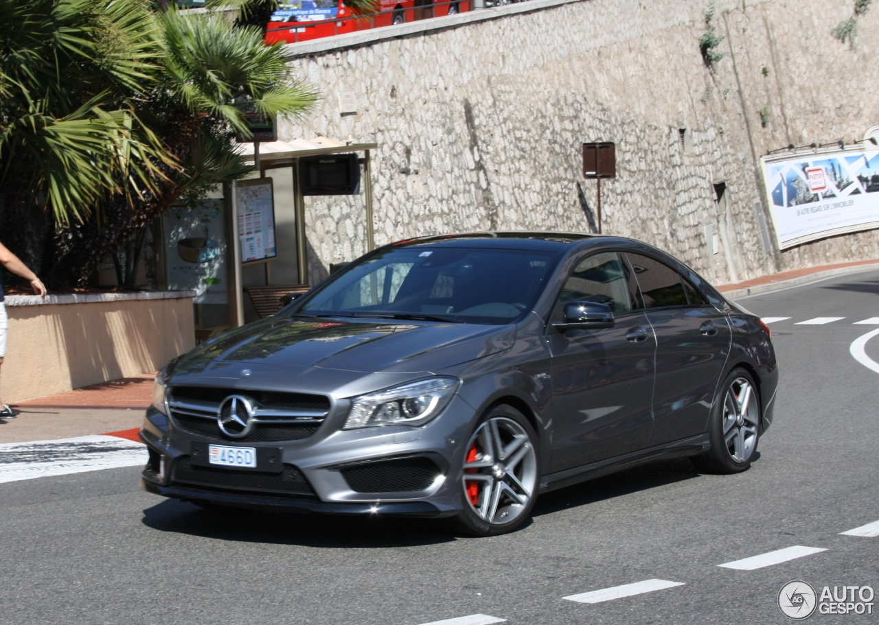 mercedes benz cla 45 amg c117 20 october 2016 autogespot. Cars Review. Best American Auto & Cars Review