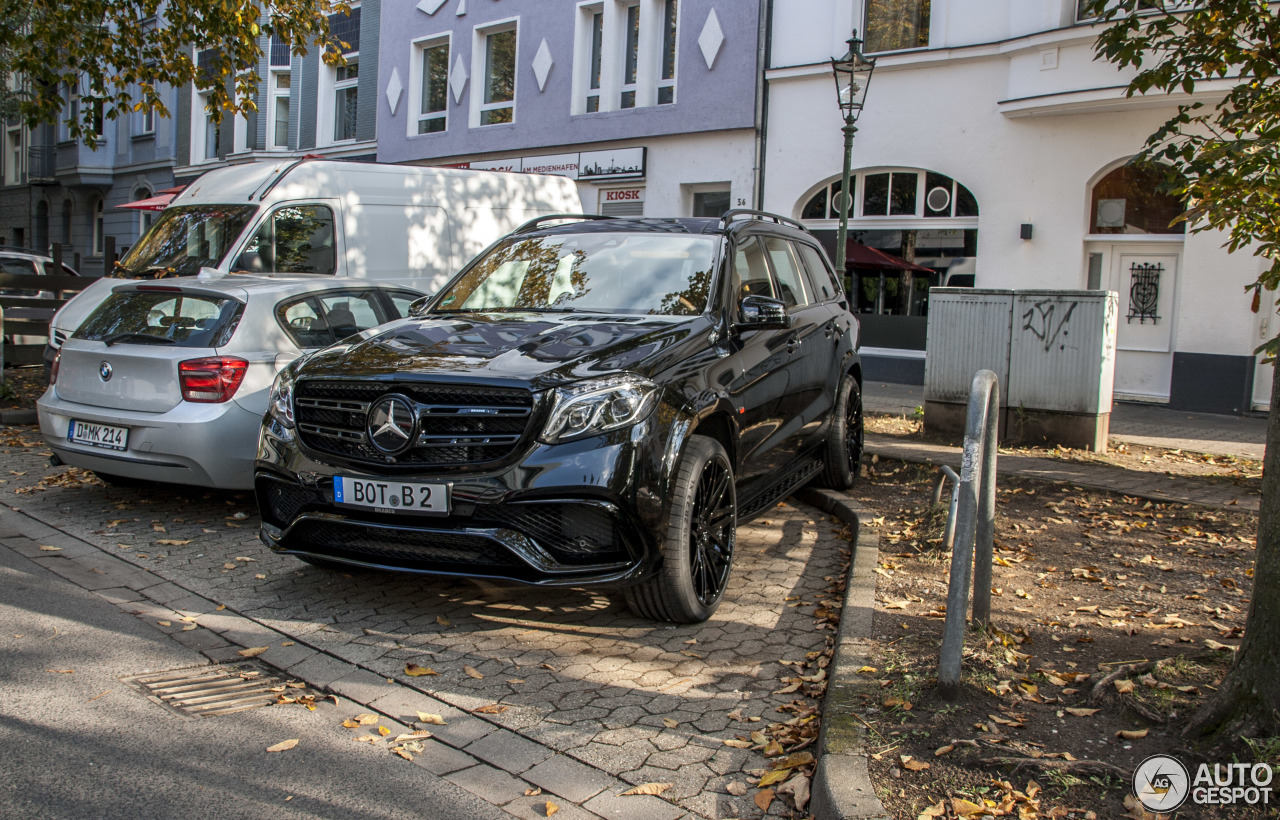 Mercedes Amg Brabus Gls 850 6 0 Biturbo 22 October 2016 Autogespot