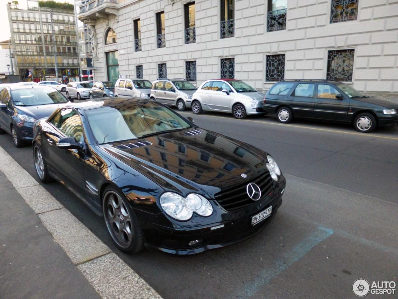 Mercedes benz sl 600 r230 22 ottobre 2016 autogespot for Mercedes benz c 600