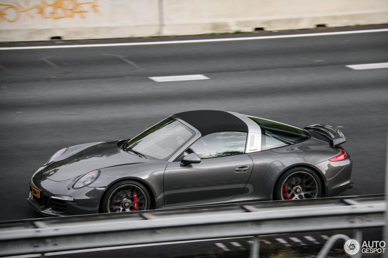 Porsche 991 Targa 4 Gts 22 October 2016 Autogespot