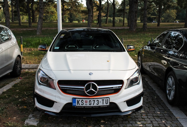 Mercedes-AMG CLA 45 OrangeArt Edition C117