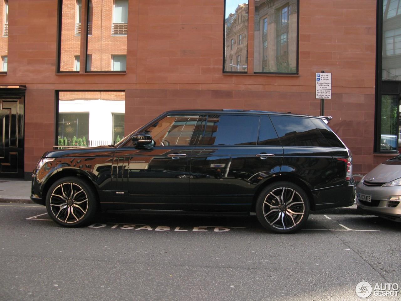 Wheel City Motors >> Land Rover Overfinch Range Rover L405 Long Wheelbase - 23 ...