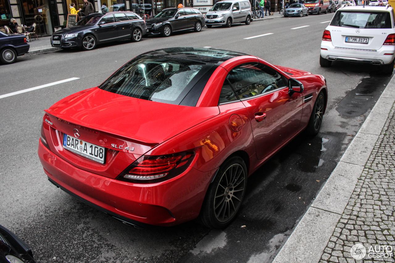Mercedes amg slc 43 r172 23 octobre 2016 autogespot for 902 10 23 43
