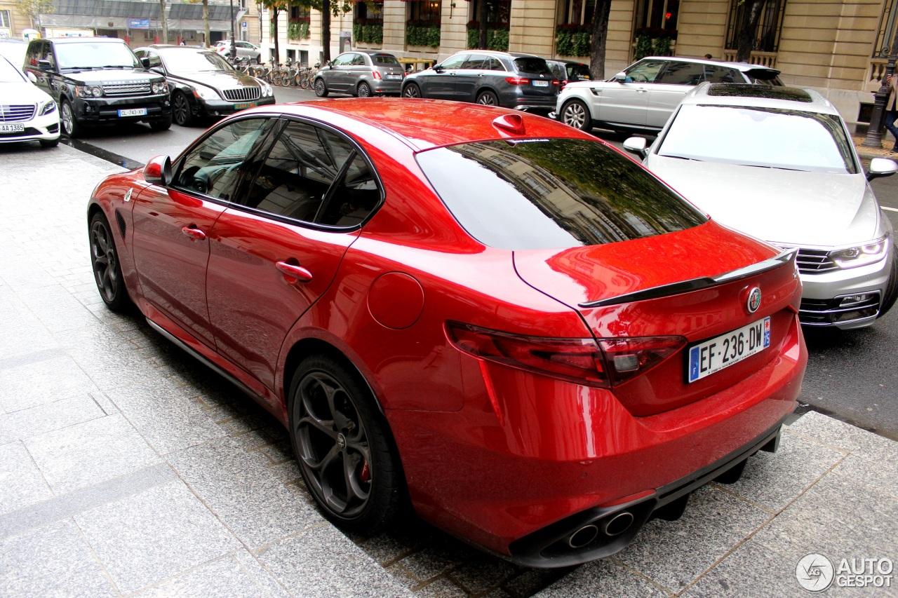 alfa romeo giulia quadrifoglio 24 october 2016 autogespot. Black Bedroom Furniture Sets. Home Design Ideas