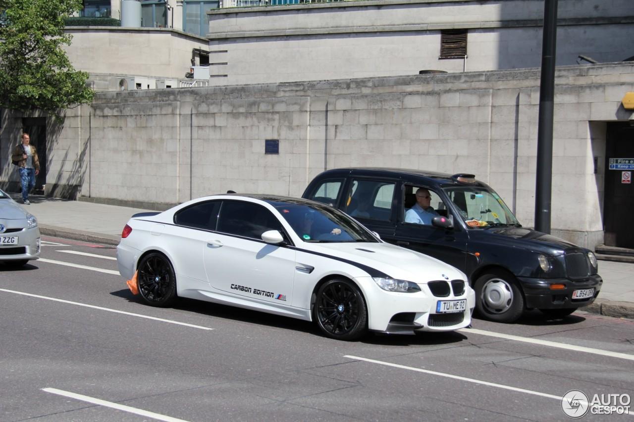 Fire Orange BMW E92 M3 Carbon Edition is a beauty