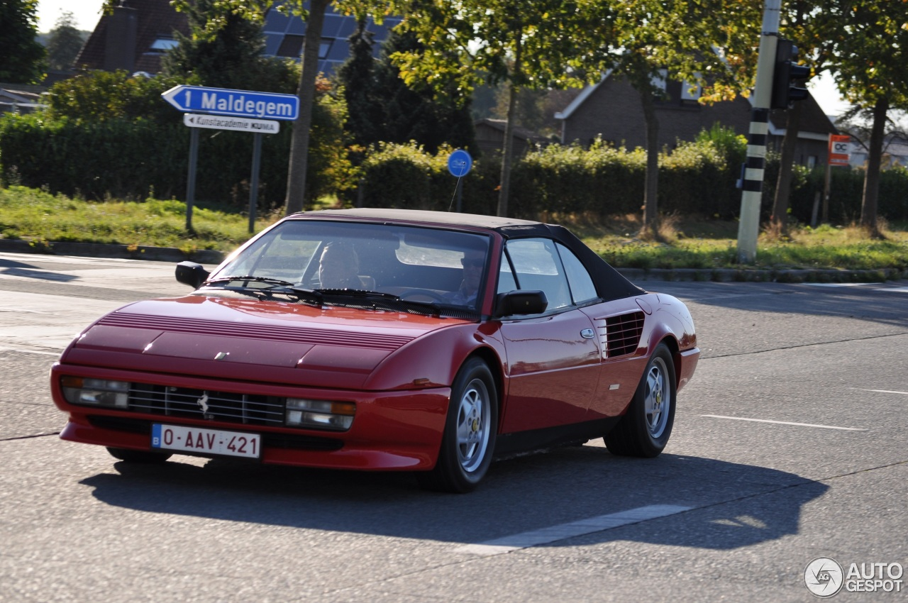 ferrari mondial cabriolet production numbers ferrari mondial 3 2 cabriolet 26 august 2016. Black Bedroom Furniture Sets. Home Design Ideas