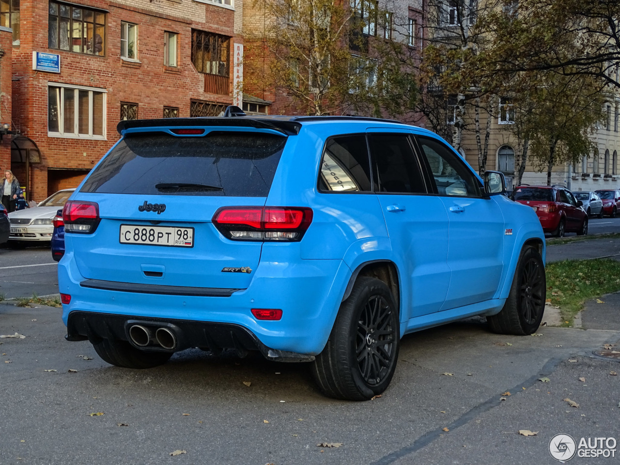 jeep grand cherokee srt 8 2013 25 october 2016 autogespot. Black Bedroom Furniture Sets. Home Design Ideas