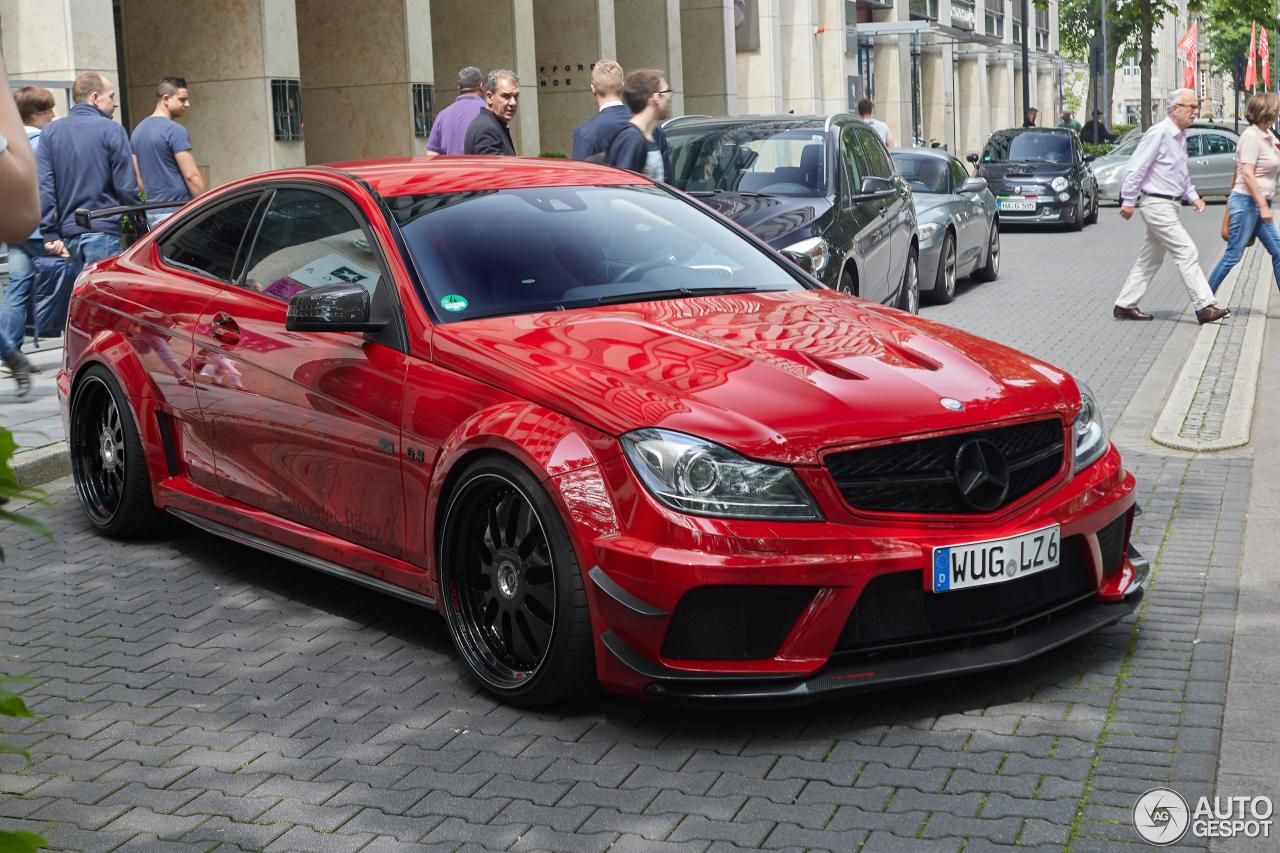 Mercedes benz c 63 amg black series by domanig 25 for Mercedes benz g series