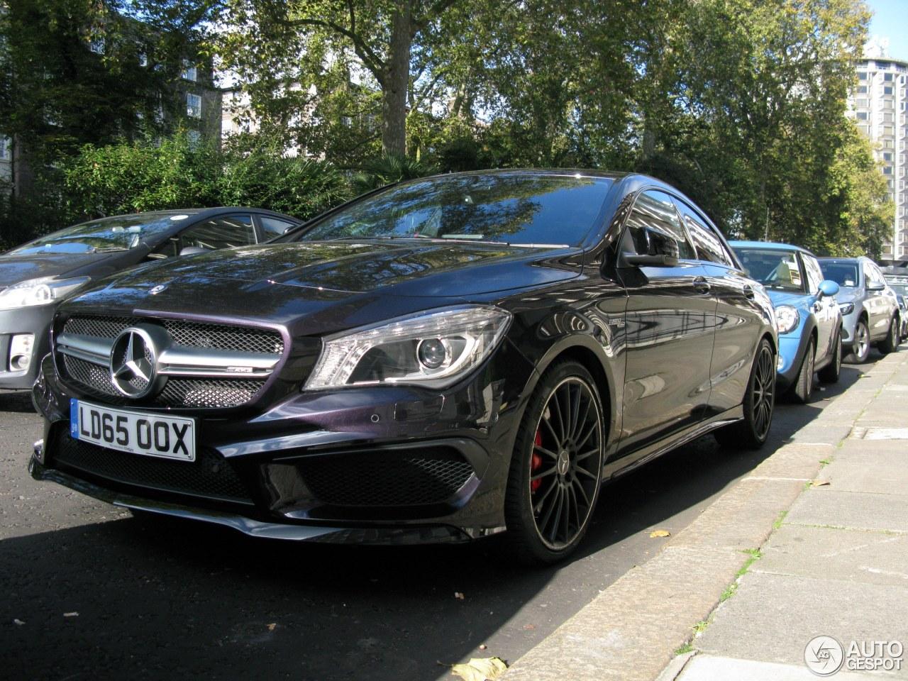 Mercedes benz cla 45 amg c117 25 october 2016 autogespot for Mercedes benz cla 250 amg price