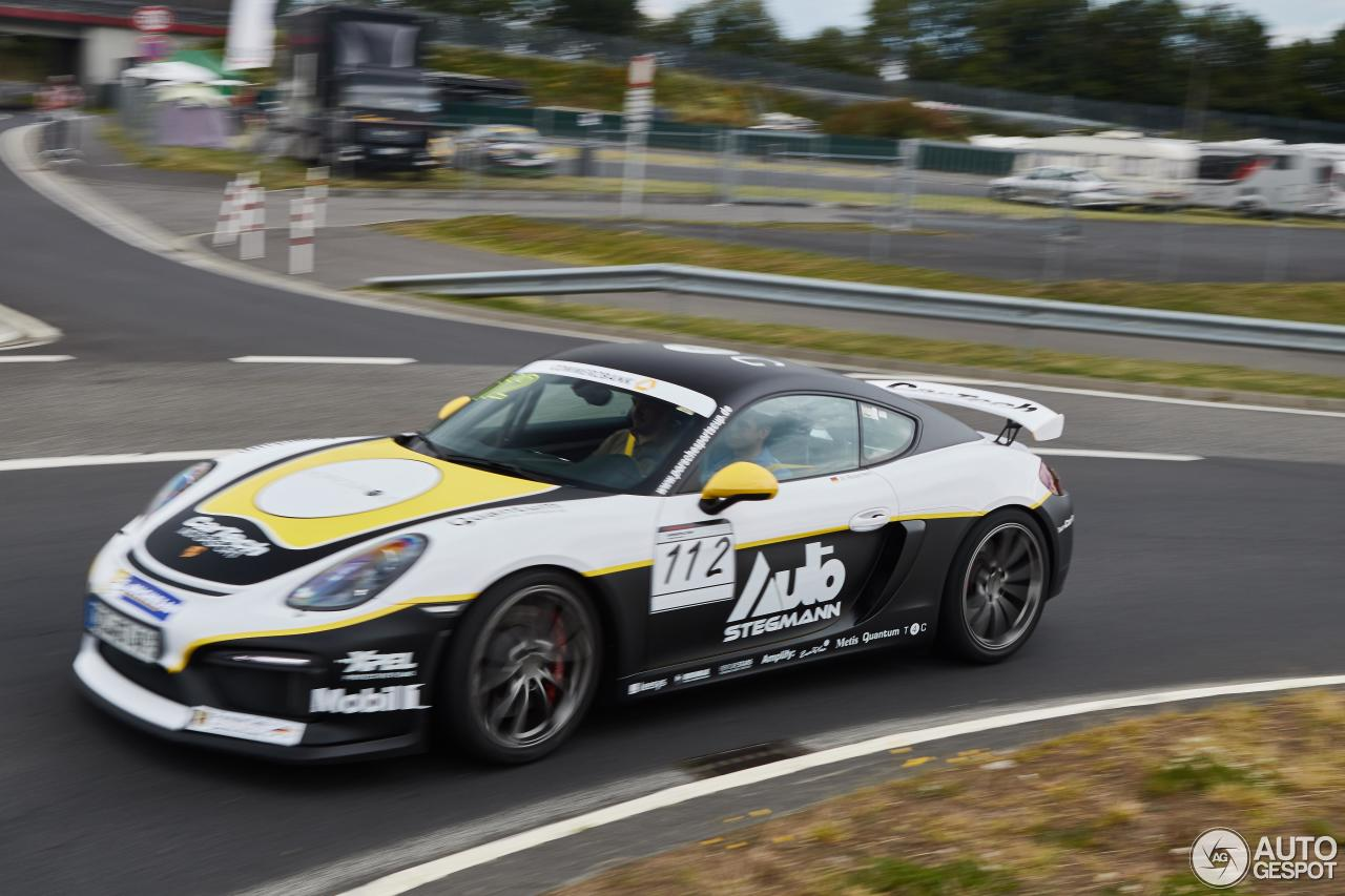 Porsche 981 Cayman Gt4 Clubsport 25 October 2016