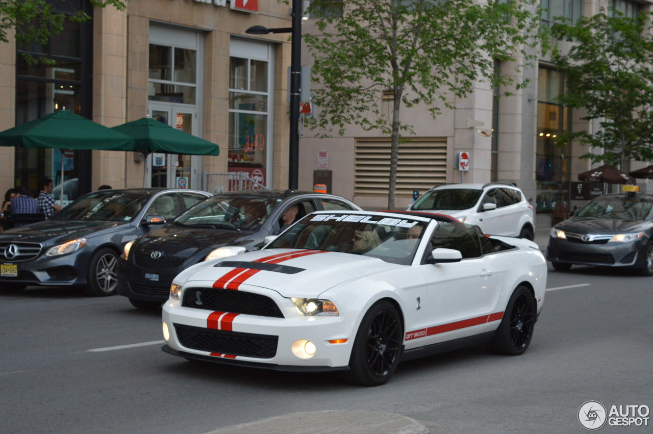 All Types 2010 mustang shelby : Ford Mustang Shelby GT500 Convertible 2010 - 26 October 2016 ...